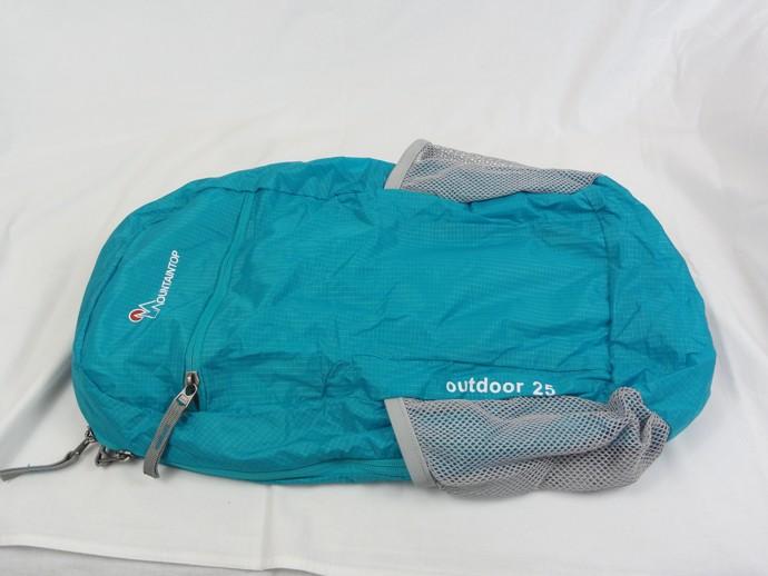 mountaintop faltbarer rucksack 25 liter front